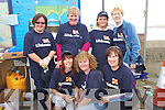 0055.Bar B Q - Helping out at the Barbeque held in aid of The RNLI and Churchill Ladies Football at Fenit Strand on Sunday were front l/r Mary O'Carroll, Gemma Moore and Breda O'Callaghan, back l/r Rosario Kelliher, Siobhan O'Mahony, Anne Brick and Judy McCarthy..............   Copyright Kerry's Eye 2008