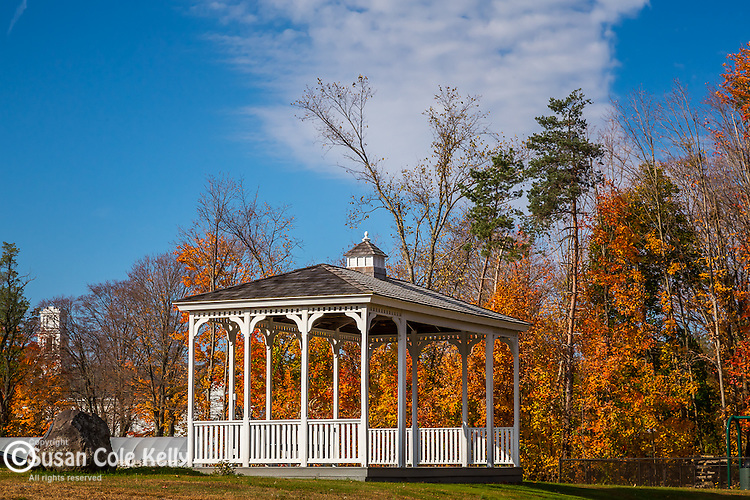 Fall foliage in Somers, Connecticut, USA
