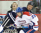 Derek Arnold (Lowell - 29), ? - The visiting University of New Hampshire Wildcats defeated the University of Massachusetts-Lowell River Hawks 3-0 on Thursday, December 2, 2010, at Tsongas Arena in Lowell, Massachusetts.