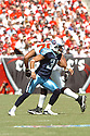 COURTLAND FINNEGAN, of the Tennessee Titans , in action during the Titans games against the Tampa Bay Buccaneers , in Tampa Bay, FL on October 14, 2007.  ..The Buccaneers won the game 13-10...COPYRIGHT / SPORTPICS..........