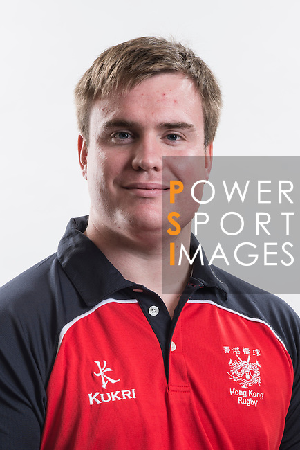 Hong Kong Junior Squad management team member Craig Wilson poses during the Official Photo Session Day at King's Park Sports Ground ahead the Junior World Rugby Tournament on 25 March 2014. Photo by Andy Jones / Power Sport Images