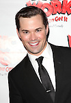Andrew Rannells.attending the Broadway Opening Night After Party for  'Nice Work If You Can Get It' at the Mariott Marquis  on 4/24/2012 in New York City.