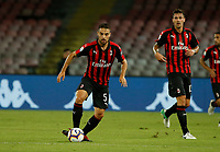 Giacomo Bonaventura  during the  italian serie a soccer match,  SSC Napoli - Milan      at  the San  Paolo   stadium in Naples  Italy , August 25, 2018