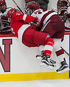 Brendan Smith (Cornell - 2), Ryan Donato (Harvard - 16) - The Harvard University Crimson defeated the visiting Cornell University Big Red on Saturday, November 5, 2016, at the Bright-Landry Hockey Center in Boston, Massachusetts.