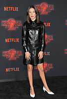 Millie Bobby Brown at the premiere for Netflix's &quot;Stranger Things 2&quot; at the Westwood Village Theatre. Los Angeles, USA 26 October  2017<br /> Picture: Paul Smith/Featureflash/SilverHub 0208 004 5359 sales@silverhubmedia.com