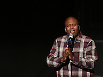 Tituss Burgess performing in 'Best in Shows' A benefit for the Humane Society of New York at New World Stages on November 9, 2014 in New York City.