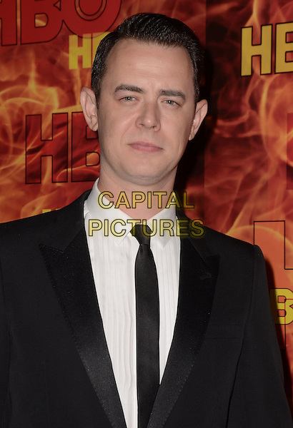 20 September  2015 - West Hollywood, California - Colin Hanks. Arrivals for the 2015 HBO Emmy Party held at the Pacific Design Center. <br /> CAP/ADM/BT<br /> &copy;BT/ADM/Capital Pictures