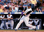 25 August 2007:  Colorado Rockies second baseman Kazuo Matsui in action against the Washington Nationals at Coors Field in Denver, Colorado. The Rockies defeated the Nationals 5-1 in the second game of their 3-game series...Mandatory Photo Credit: Ed Wolfstein Photo