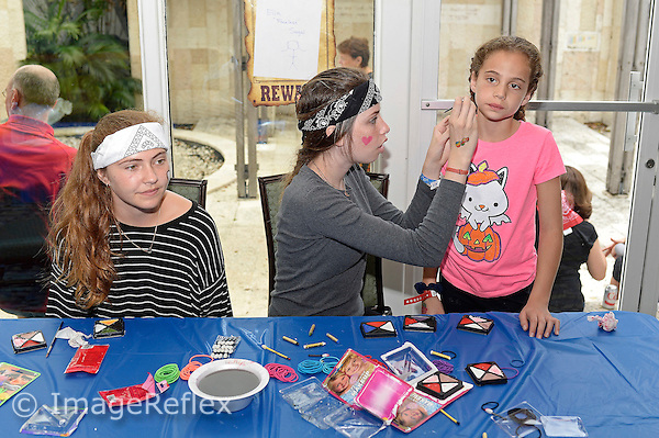 8 March 2015:  The Purim Spiel and carnival at Temple Judea in Coral Gables, Florida.