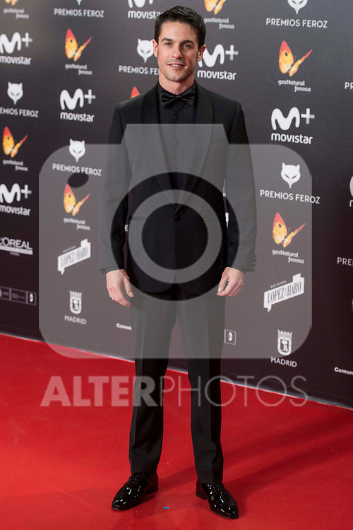 Alejo Sauras attends red carpet of Feroz Awards 2018 at Magarinos Complex in Madrid, Spain. January 22, 2018. (ALTERPHOTOS/Borja B.Hojas)