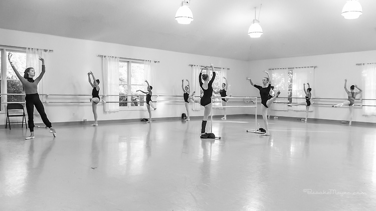 Master Class with Mimi Staker of New York City Ballet.  Cary Ballet Conservatory, 12 August 2015.