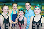6354-6358.Swimmers - Taking part in The Kingdom Swimming Club Christmas Gala at Tralee Sports Complex on Sunday were l/r Grainne Sheehy, Ciara Stack, Sadb O'Donnell, Clodagh Morriarty and Elenor Murphy...