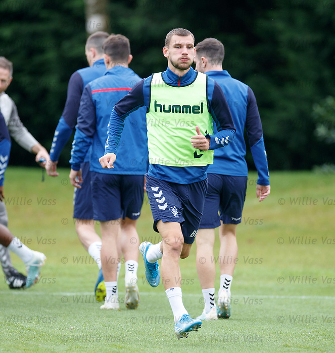 24.09.2019 Rangers training: Borna Barisic