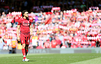 Liverpool's Trent Alexander-Arnold<br /> <br /> Photographer Rich Linley/CameraSport<br /> <br /> The Premier League - Liverpool v Wolverhampton Wanderers - Sunday 12th May 2019 - Anfield - Liverpool<br /> <br /> World Copyright © 2019 CameraSport. All rights reserved. 43 Linden Ave. Countesthorpe. Leicester. England. LE8 5PG - Tel: +44 (0) 116 277 4147 - admin@camerasport.com - www.camerasport.com