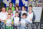 CERTIFICATES: Children who took part in the Children's library summer reading programme receiving their certificates on Saturday morning in the Kerry County Library, Tralee were Diarmuid Murphy, Kevin and Stephen Browne, Jack McGrath, Emma McCarthy, Moira Hannifin, Ann Fitzgerald, Rachel Regan (Tralee) and Aoife Mahony (Lixnaw).