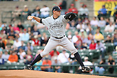 June 1st 2008:  Starting pitcher Dan Giese (31) of the Scranton Wilkes-Barre Yankees, Class-AAA affiliate of the New York Yankees, during a game at Frontier Field in Rochester, NY.  Photo By Mike Janes/Four Seam Images