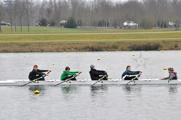 526 Maidenhead RC J13A.4x+..Marlow Regatta Committee Thames Valley Trial Head. 1900m at Dorney Lake/Eton College Rowing Centre, Dorney, Buckinghamshire. Sunday 29 January 2012. Run over three divisions.