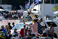 #67 Chip Ganassi Racing Ford GT, GTLM: Ryan Briscoe, Richard Westbrook, #4 Corvette Racing Chevrolet Corvette C7.R, GTLM: Oliver Gavin, Tommy Milner, #66 Chip Ganassi Racing Ford GT, GTLM: Dirk Müller, Joey Hand