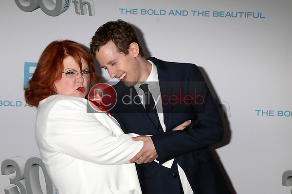 "Patrika Darbo, Alex Wyse<br /> at the ""The Bold and The Beautiful"" 30th Anniversary Party, Clifton's Downtown, Los Angeles, CA 03-18-17<br /> David Edwards/DailyCeleb.com 818-249-4998"