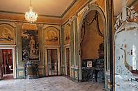 Europe/France/Aquitaine/64/Pyrénées-Atlantiques/Cambo-Les-Bains: Villa Arnaga - La demeure Edmond Rostang - La salle à manger