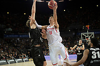 China&rsquo;s Zhixuan Liu in action during the FIBA World Cup Basketball Qualifier - NZ Tall Blacks v China at Spark Arena, Auckland, New Zealand on Sunday 1 July 2018.<br /> Photo by Masanori Udagawa. <br /> www.photowellington.photoshelter.com
