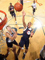 Cedric McAfee at the NBPA Top100 camp June 18, 2010 at the John Paul Jones Arena in Charlottesville, VA. Visit www.nbpatop100.blogspot.com for more photos. (Photo © Andrew Shurtleff)
