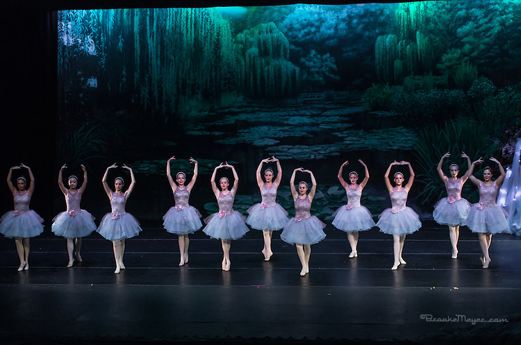 "Saturday Matinee Performance of ""A Mermaid's Dream"", the 2015 Annual Recital by the Cary Ballet Conservatory."