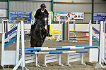 Class 1. British Novice. British showjumping seniors. Brook Farm training centre. Essex. UK. 12/11/2017. ~ MANDATORY CREDIT Garry Bowden/Sport in Pictures - NO UNAUTHORISED USE - +44 7837 394578