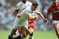 Ben Youngs of England on his way to a try during the Old Mutual Wealth Cup match between England and Wales at Twickenham Stadium on Sunday 29th May 2016 (Photo: Rob Munro/Stewart Communications)