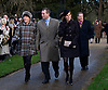 "KATE'S 1ST CHRISTMAS AT SANDRINGHAM.Catherine, Duchess of Cambridge joined members of the Royal Family for her first Christmas at Sandringham, Norfolk..She attended Christmas Day Service together with other members of the Roayal Familt a St. Mary Magdalene Church, Sandringham_25/12/2011.Picture shows: Princess Beatrice with Peter Philips, wife Autumn Kelly and David Linley.Mandatory Credit Photo: ©NEWSPIX INTERNATIONAL..Please telephone : +441279324672 for usage fees..**ALL FEES PAYABLE TO: ""NEWSPIX INTERNATIONAL""**..IMMEDIATE CONFIRMATION OF USAGE REQUIRED:.Newspix International, 31 Chinnery Hill, Bishop's Stortford, ENGLAND CM23 3PS.Tel:+441279 324672  ; Fax: +441279656877.Mobile:  07775681153.e-mail: info@newspixinternational.co.uk"