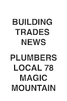 Building Trades News Plumbers 78 Magic Mountain