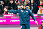 17.03.2019, Allianz Arena, Muenchen, GER, 1.FBL,  FC Bayern Muenchen vs. Mainz 05, DFL regulations prohibit any use of photographs as image sequences and/or quasi-video, im Bild Sandro Schwarz (Trainer Mainz) <br /> <br />  Foto &copy; nordphoto / Straubmeier