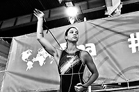 Izabella Chiappini Riscaldamento. Warm Up <br /> Trieste 15/01/2019 Centro Federale B. Bianchi <br /> Women's FINA Europa Cup 2019 water polo<br /> Italy ITA - Nederland NED <br /> Foto Andrea Staccioli/Deepbluemedia/Insidefoto  <br /> Photo transformed in B/W