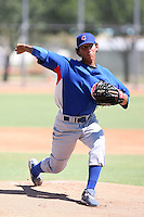 Aaron Kurcz - Chicago Cubs - 2010 Instructional League.Photo by:  Bill Mitchell/Four Seam Images..