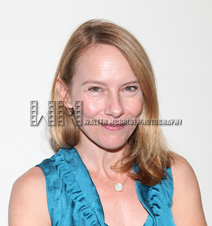 Amy Ryan .attending the first day of rehearsals for the Playwrights Horizon Production of 'Detroit' at their rehearsal studios in New York on 7/27/12