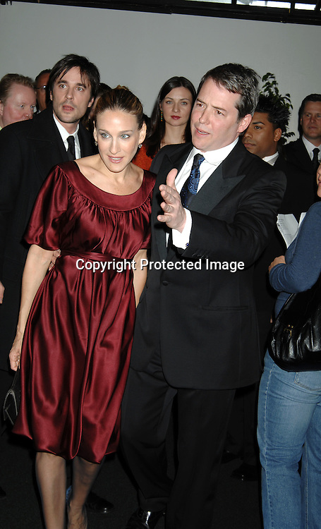 Sarah Jessica Parker and Matthew Broderick ..at The 59th Annual Writers Guild Awards on February 11, 2007 at The Hudson Theatre in New York City...Robin Platzer, Twin Images