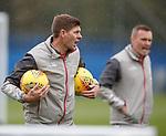 30.08.2019 Rangers training: Steven Gerrard
