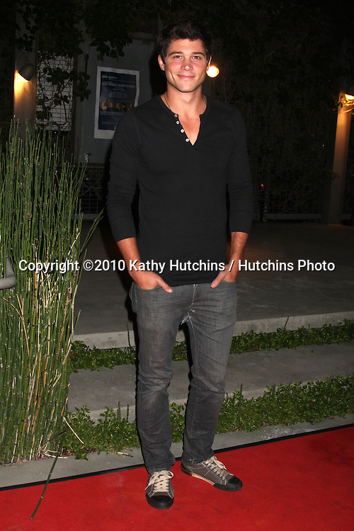 """LOS ANGELES - OCT 7:  Trent Garrett  arrives at the """"THE WORLD GOES 'ROUND"""" Play  at Renberg Theatre.Theatre on October 7, 2010 in Los Angeles, CA"""