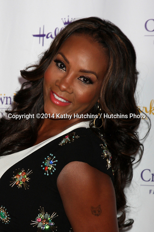 LOS ANGELES - JAN 11:  Vivica A. Fox at the Hallmark Winter TCA Party at The Huntington Library on January 11, 2014 in San Marino, CA