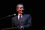 Jim Dale (host) at the Broadway For A New America presented by the Jewish Alliance for Change on Aprl 13, 2009 at the Peter Norton Symphony Space, NYC. (Photo by Sue Coflin/Max Photos)