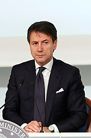 Italian premier Giuseppe Conte<br /> Rome December 21st 2018. Palazzo Chigi. Press conference at the end of Minister's cabinet.<br /> Foto Samantha Zucchi Insidefoto