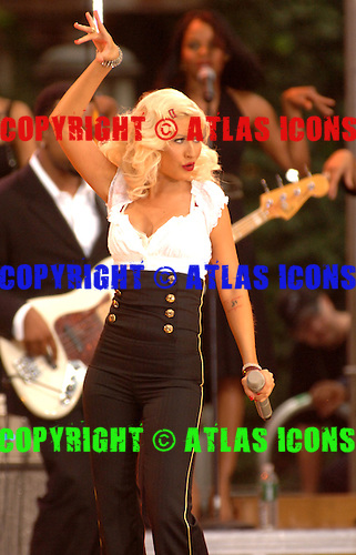 Christina Aguilera;.Photo Credit: Eddie Malluk/Atlas Icons.com