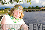Queen of Puck Cassie O'Grady looking forward to a busy festival at the Puck Fair festival launch in the Fishery bar Killorglin on Thursday evening
