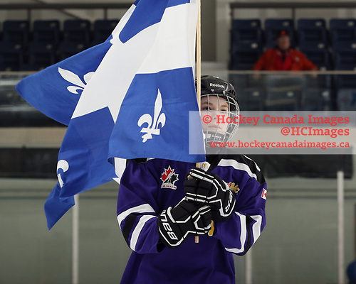 Bridgewater, NS - April 22, 2018 - Game 3 of the 2018 ESSO Cup at the Lunenburg Community Lifestyle Centre in Bridgewater, Nova Scotia, Canada (Photo: Dennis Pajot/Hockey Canada)