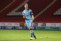 James Morton of Forest Green Rovers celebrates scoring the fourth penalty for Rovers in the Shoot-out during Charlton Athletic vs Forest Green Rovers, Caraboa Cup Football at The Valley on 13th August 2019