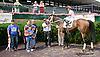 Festive Spirit winning at Delaware Park racetrack on 7/2/14