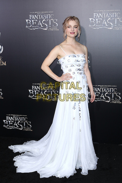NEW YORK, NY - NOVEMBER 10: Alison Sudol at the World Premiere of Fantastic Beasts and Where to Find Them at Alice Tully Hall on November 10, 2016 in New York City.   <br /> CAP/MPI/DIE<br /> &copy;DIE/MPI/Capital Pictures