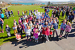 The Easter Bunny made an appearance at Carcow Park in Knightstown, Valentia on Easter Sunday for the Big Easter Egg Hunt pictured here with the eager hunters.