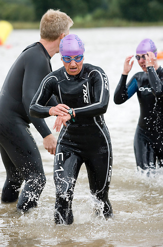 20 JUL 2008 - MANLEY, UK - Deva Divas Triathlon. (PHOTO (C) NIGEL FARROW)