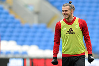 Gareth Bale of Wales during the Wales Training Session at the Cardiff City Stadium in Cardiff, Wales, UK. Thursday 15 November 2018